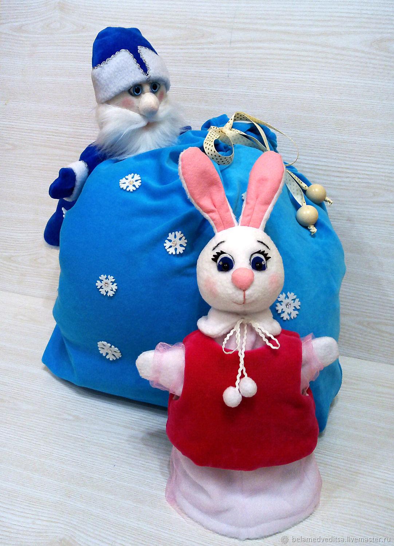 Зайчик перчаточная кукла детская, Кукольный театр, Рыбинск,  Фото №1