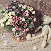 Материалы для творчества ручной работы. Ярмарка Мастеров - ручная работа Бутоны камелий весенних (6 расцветок). Handmade.