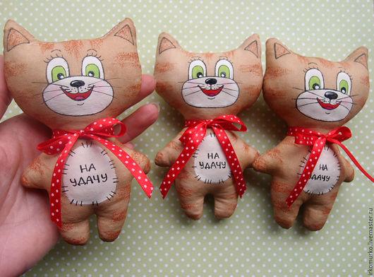 """Ароматизированные куклы ручной работы. Ярмарка Мастеров - ручная работа. Купить Кофейная игрушка """"Котик"""". Handmade. Кофейная игрушка, комбинированный"""