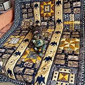 """Подарки к праздникам ручной работы. Ярмарка Мастеров - ручная работа Лоскутное одеяло """"Милитари"""". Handmade."""