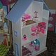 Кукольный дом ручной работы. Ярмарка Мастеров - ручная работа. Купить кукольный дом. Handmade. Разноцветный, мебельный цветной лдсп