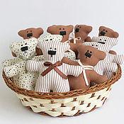 Куклы и игрушки ручной работы. Ярмарка Мастеров - ручная работа Медведики. Handmade.