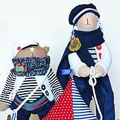 Куклы и игрушки ручной работы. Ярмарка Мастеров - ручная работа Заяц&Кот. Handmade.