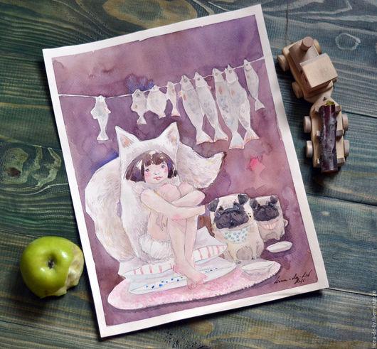 Фэнтези ручной работы. Ярмарка Мастеров - ручная работа. Купить Мягкие подушки. Handmade. Любовь, детское, house, сказка