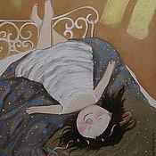 Картины и панно ручной работы. Ярмарка Мастеров - ручная работа Картина маслом. Чудный день. Handmade.