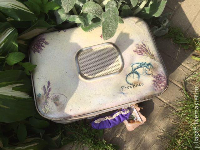 Rio Rita (lavender vintage suitcase), Organizer, Sergiev Posad,  Фото №1