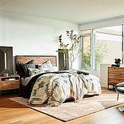 Коллекция для спальни №2 кровать из массива ясеня или дуба