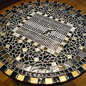 Для дома и интерьера handmade. Livemaster - original item Table pridivanny with a mosaic of