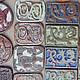 Сувениры ручной работы. Ярмарка Мастеров - ручная работа. Купить Мини -изразец. Handmade. Керамика, магнит в подарок