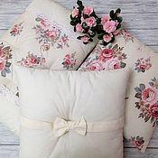 Работы для детей, handmade. Livemaster - original item Bumpers bedding in the crib. Handmade.
