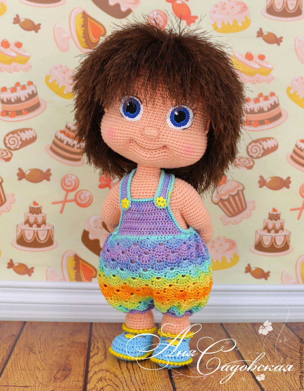 фото вязаные крючком куклы