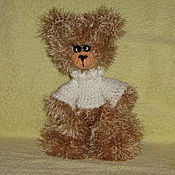 Куклы и игрушки ручной работы. Ярмарка Мастеров - ручная работа Медвежонок в свитере. Handmade.