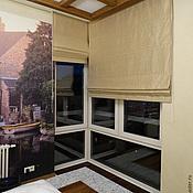 Для дома и интерьера ручной работы. Ярмарка Мастеров - ручная работа Римские шторы из шёлка. Handmade.