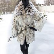 Одежда handmade. Livemaster - original item The coat made of lynx bellies. Handmade.
