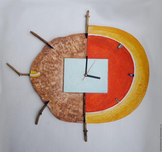 Часы-рельеф Луна-2