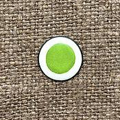 Материалы для творчества handmade. Livemaster - original item Overglaze paint Dulevo No. №5104 yellow-green. Handmade.