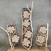 Для дома и интерьера ручной работы. Ярмарка Мастеров - ручная работа панели декоративные. Handmade.
