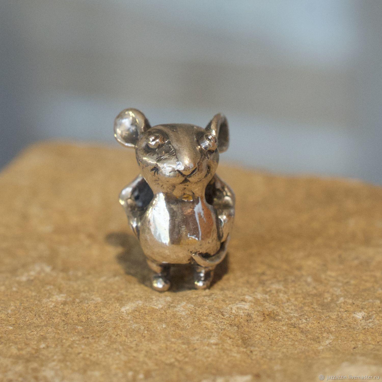 Little mouse charm, Beads1, Vladivostok,  Фото №1
