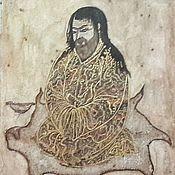 Картины и панно handmade. Livemaster - original item Miniature: Indian Sufi, 13th century, copy. Handmade.