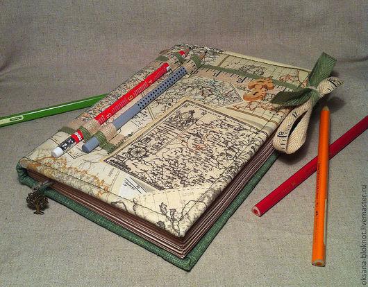 Очень красивый и практичный блокнот для тех, кто любит путешествовать ;-)