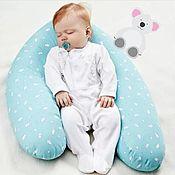 Подушка для кормления ручной работы. Ярмарка Мастеров - ручная работа Подушка для беременных, для кормления. Handmade.
