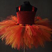 """Работы для детей, ручной работы. Ярмарка Мастеров - ручная работа Платье """"Осенний вальс"""". Handmade."""