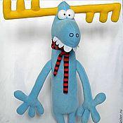 """Куклы и игрушки ручной работы. Ярмарка Мастеров - ручная работа Лось"""" Дылда"""". Handmade."""