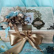 Сувениры и подарки handmade. Livemaster - original item Casket