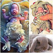 """Куклы и игрушки ручной работы. Ярмарка Мастеров - ручная работа """"Лапочка дочка"""" комплект для пупса. Handmade."""
