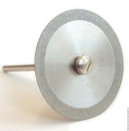 Другие виды рукоделия ручной работы. Ярмарка Мастеров - ручная работа. Купить Диск с алмазным краем 30 мм сплошной. Handmade.