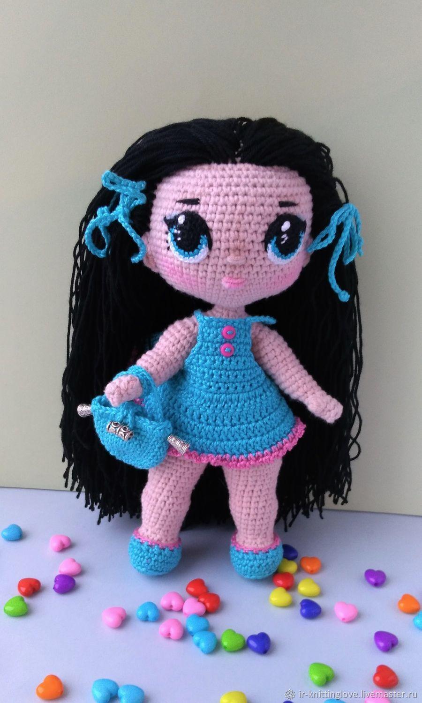 Кукла ЛОЛ Кукла вязаная Кукла с длинными волосами, Куклы Тильда, Сыктывкар,  Фото №1