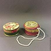 Подарки к праздникам ручной работы. Ярмарка Мастеров - ручная работа Нежные розочки.   Шкатулка для украшений. Handmade.