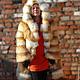 Верхняя одежда ручной работы. Ярмарка Мастеров - ручная работа. Купить Шуба из рыжей  лисы, с капюшоном. Handmade. Шуба из лисы
