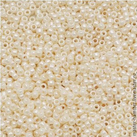 Японский бисер TOHO 15/0-123 5 гр кремовый / перл
