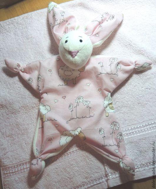 Куклы-младенцы и reborn ручной работы. Ярмарка Мастеров - ручная работа. Купить Зайка-комфортёр Няшка. Handmade. Комфортер, сплюшка