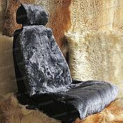 Сувениры и подарки handmade. Livemaster - original item Fur capes made of sheepskin (2 PCs.), dark ash. Handmade.