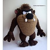 Куклы и игрушки ручной работы. Ярмарка Мастеров - ручная работа Taz (Тасманский дьявол). Handmade.