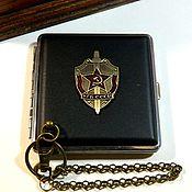 Сувениры и подарки handmade. Livemaster - original item CIGARETTE CASE FOR 20 ORDINARY AND 30 THIN CIGARETTES
