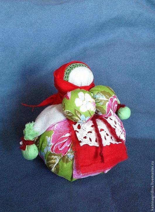 """Народные куклы ручной работы. Ярмарка Мастеров - ручная работа. Купить Народная кукла """"Кубышка-травница"""" с полевыми травами. Handmade."""