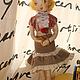 Коллекционные куклы ручной работы. кукла текстильная №4. кукла. Интернет-магазин Ярмарка Мастеров. Кукла ручной работы
