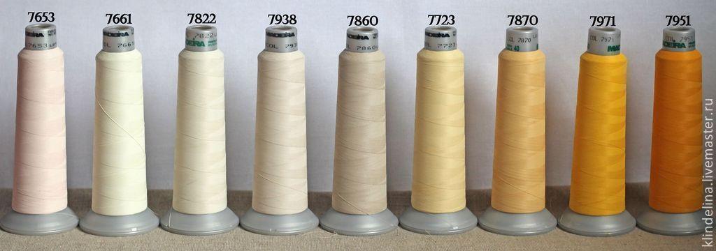 Нитки madeira для вышивки
