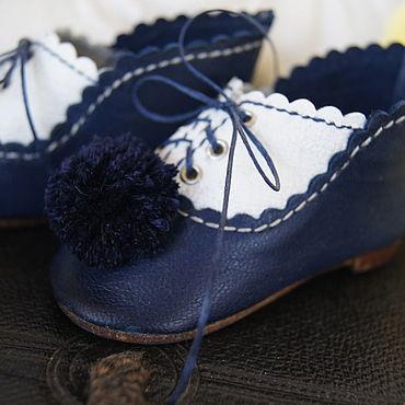 """Куклы и игрушки ручной работы. Ярмарка Мастеров - ручная работа Обувь для Антикварной и современной куклы """"Seaman"""". Handmade."""