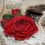 """Украшения ручной работы. Ярмарка Мастеров - ручная работа """"Роза с бутонами"""" Брошь. Handmade."""
