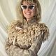 Верхняя одежда ручной работы. Валяная куртка А мне тепло и бежево. Юлия Блохина           (Wool charm). Ярмарка Мастеров.