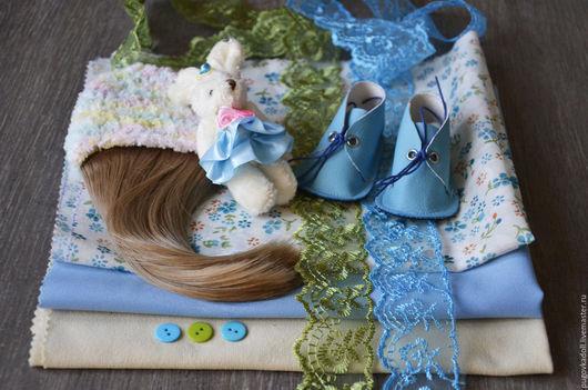 Куклы и игрушки ручной работы. Ярмарка Мастеров - ручная работа. Купить Набор для самостоятельного шитья куклы Вика. Handmade.
