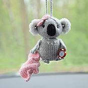 Для дома и интерьера handmade. Livemaster - original item Koala interior toy, suspension in the car on the mirror. Handmade.