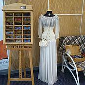 Свадебный салон ручной работы. Ярмарка Мастеров - ручная работа Будуарный комплект для невесты Vintage Gold , сумочка в подарок. Handmade.