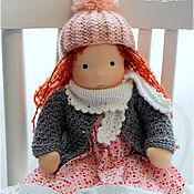 Куклы и игрушки ручной работы. Ярмарка Мастеров - ручная работа Вальдорфская кукла Лизонька, 36 см.. Handmade.