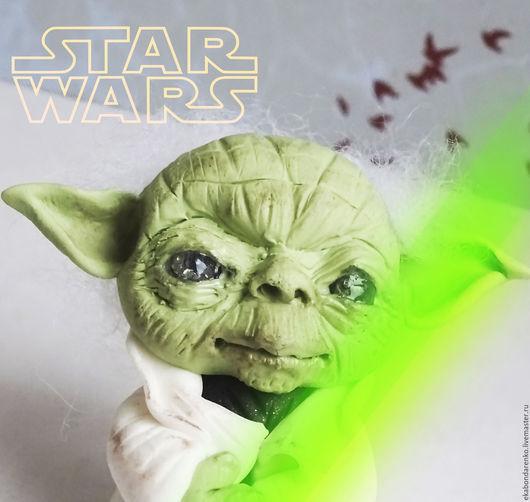 Коллекционные куклы ручной работы. Ярмарка Мастеров - ручная работа. Купить Мастер Йода Звездные войны. Yoda Star Wars.. Handmade.