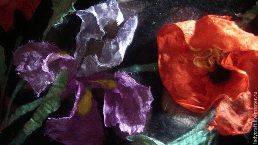 Валяние ручной работы. Ярмарка Мастеров - ручная работа. Купить Видео-МК  Цветы 3D в войлоке.. Handmade. Леди Крафт